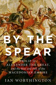 Cover for   By the Spear