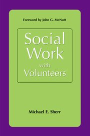 Cover for   Social Work With Volunteers