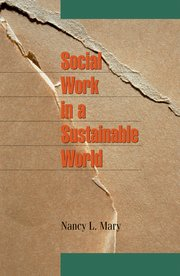 Cover for   Social Work in a Sustainable World