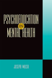 Cover for   Psychoeducation in Mental Health