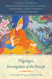 Cover for   Dignāgas Investigation of the Percept