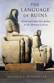 Cover for   The Language of Ruins