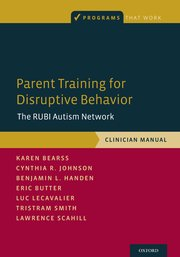 Cover for   Parent Training for Disruptive Behavior