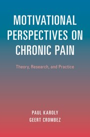 Cover for   Motivational Perspectives on Chronic Pain