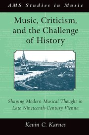 Cover for   Music, Criticism, and the Challenge of History