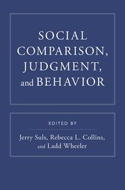 Cover for   Social Comparison, Judgment, and Behavior