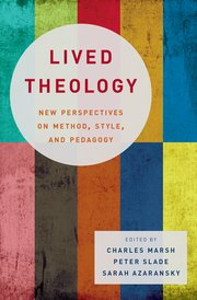 Cover for   Lived Theology