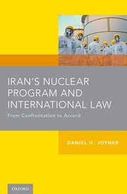 Cover for   Irans Nuclear Program and International Law