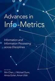 Cover for   Advances in Info-Metrics