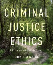 Cover for   Criminal Justice Ethics