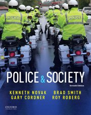 Cover for   Police & Society