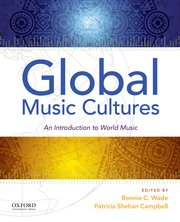 Cover for   Global Music Cultures