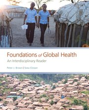 Cover for   Foundations of Global Health