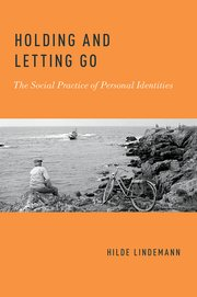 Cover for   Holding and Letting Go
