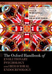 Cover for   The Oxford Handbook of Evolutionary Psychology and Behavioral  Endocrinology