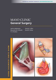 Cover for   Mayo Clinic General Surgery
