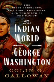 Cover for   The Indian World of George Washington