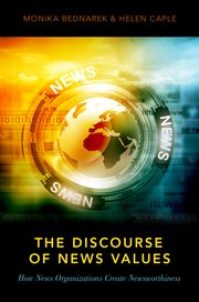 Cover for   The Discourse of News Values