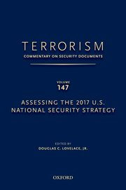 Cover for   Terrorism: Commentary on Security Documents Volume 147