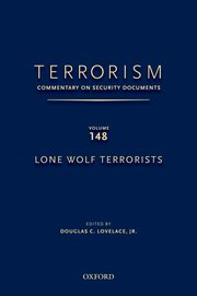 Cover for   Terrorism: Commentary on Security Documents Volume 148