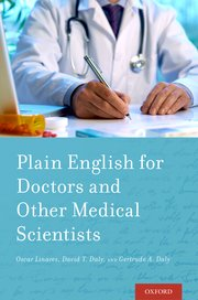 Cover for   Plain English for Doctors and Other Medical Scientists