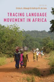 Cover for   Tracing Language Movement in Africa