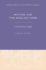 Cover for   Motion and the English Verb