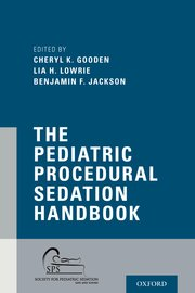 Cover for   The Pediatric Procedural Sedation Handbook