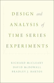 Cover for   Design and Analysis of Time Series Experiments