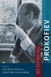 Cover for   Rethinking Prokofiev