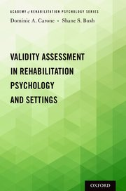 Cover for   Validity Assessment in Rehabilitation Psychology and Settings