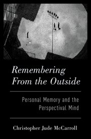 Cover for   Remembering from the Outside