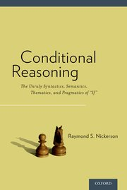 Cover for   Conditional Reasoning