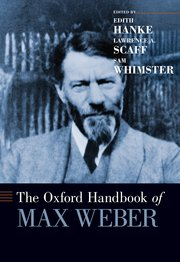 Cover for   The Oxford Handbook of Max Weber