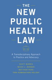 Cover for   The New Public Health Law