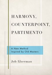 Cover for   Harmony, Counterpoint, Partimento