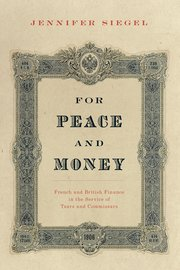Cover for   For Peace and Money