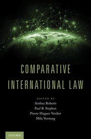 Cover for   Comparative International Law