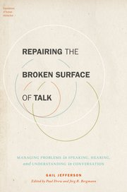 Cover for   Repairing the Broken Surface of Talk