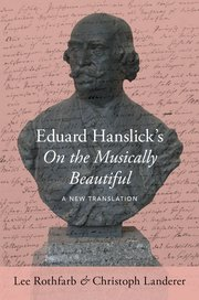 Cover for   Eduard Hanslicks On the Musically Beautiful