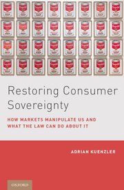 Cover for   Restoring Consumer Sovereignty