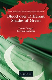 Cover for   Blood over Different Shades of Green