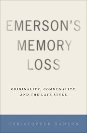 Cover for   Emersons Memory Loss
