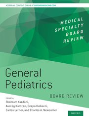 Cover for   General Pediatrics Board Review
