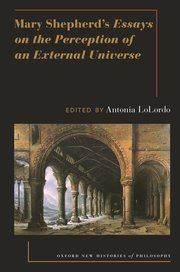 Cover for   Mary Shepherds Essays on the Perception of an External Universe