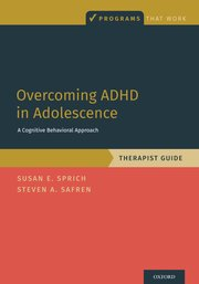 Cover for   Overcoming ADHD in Adolescence