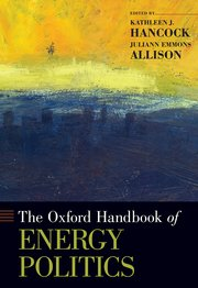 Cover for   The Oxford Handbook of Energy Politics