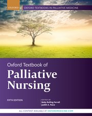Cover for   Oxford Textbook of Palliative Nursing