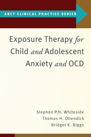 Cover for   Exposure Therapy for Child and Adolescent Anxiety and OCD