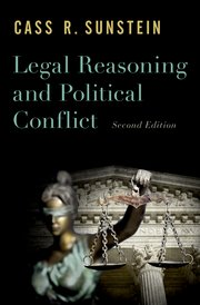 Cover for   Legal Reasoning and Political Conflict